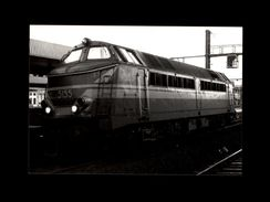 TRAINS - BERCHEM - BELGIQUE - Locomotive 5155 -1977 - Trains
