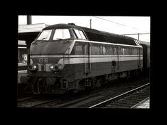 TRAINS - BERCHEM - BELGIQUE - Locomotive 6316 -1977 - Trains