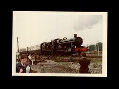TRAINS - DIDCOT - Angleterre - Locomotive GREAT WESTERN RAILWAY 6998 - 1972 - Trains