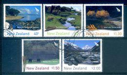 New Zealand 2003 Waterways Set Used (SG 2630-34) - Nuova Zelanda