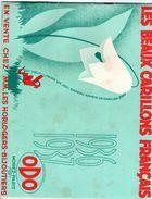 Horlogerie :ODO à Morez -2 C Atalogues 1936 Et 1937,chacun De 24 Pages Illustrées +tarifs- Bon état. - Autres
