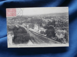 Bourg La Reine  Vue Generale De La Vallée De Robinson  Voie De Chemin De Fer - Ed. GI 2199 - Circulée - R165 - Bourg La Reine