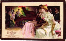 1 Trade Card  Pub. The Everett Piano John Church C° Chicago Anno 1893  Litho - Other