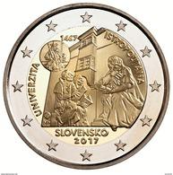 SLOWAKEI 2 Euro 2017 Acadermia Istropolitana - UNC - Sofort Lieferbar - Slovakia