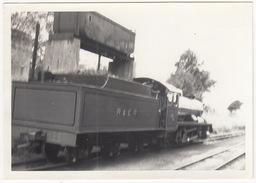 'RIVER ESK' Steamlocomotive , Tender R&ER, Bunker - (Ravenglass) - (U.K.) - Treni