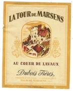 Rare // La Tour De Marsens, Dubois Frères, Vaud // Suisse - Etiquettes