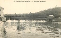 78 BOUGIVAL LOUVECIENNES LE BARRAGE DE LA MACHINE - Bougival