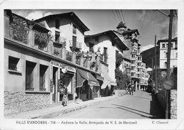 ANDORRE- VALLS ANDORRA- AVINGUDA DE N.S. DE MERITXELL - Andorra
