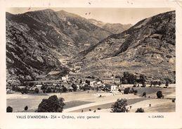 ANDORRE- VALLS D'ANDORRA- ORDINO- VUE GENERALE - Andorra