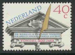 Nederland Netherlands Pays Bas 1979 Mi 1145 YT 1116 ** Text Of Joost Van Den Vondel (1587-1679) Poet - Amsterdam Theater - Periode 1949-1980 (Juliana)