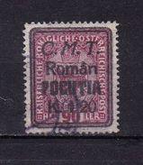 1919, Kolomea (Romanian Occupation)- Two-sided Overprint, Used - West Ukraine