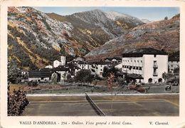 ANDORRE- VALLS D'ANDORRA- ORDINO- VUE GENERALE , HÔTEL COMA - Andorra