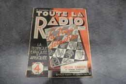 Revue Toute La Radio Par Eugène Aisberg - N°49 De Février 1938 - - Composants