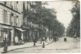 CPA - 75 - PARIS 17ème - Rue BALAGNY - - Arrondissement: 17