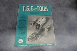 Revue - T.S.F Pour TOUS - Revue Mensuelle Des Professionnels De La Radio - N°231 De Janvier 1948 - - Composants