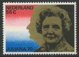 Nederland Netherlands Pays Bas 1979 Mi 1135 YT 1106 ** 70th Birthday Queen / Königin Juliana (1909-2004)- Reg. 1948-1980 - Periode 1949-1980 (Juliana)