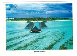 Les Maldives Paradise Island Islands + Timbre Carte Card Stamp 15.3x11cm - Maldives