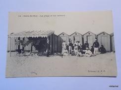 GRAU DU ROI-La Plage Et Les Cabines - Le Grau-du-Roi