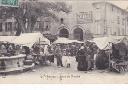 (19)    PERTUIS -  La Place Du Marché - Pertuis