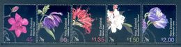 New Zealand 2004 Garden Flowers Set Used (SG 2706-10) - Nuova Zelanda