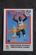 1988 OLYMPIC GAMES : CARL LEWIS - Athlétisme