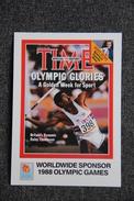 1988 OLYMPIC GAMES : DALEY THOMPSON - Athlétisme