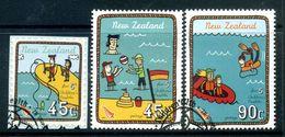 New Zealand 2004 Health - A Day At The Beach Set Used (SG 2738-41) - Nuova Zelanda