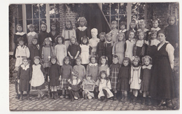 Auderghem: Hommage Des Enfants Belges: Ecole Communal N 4. (carte-photo) - Oudergem - Auderghem