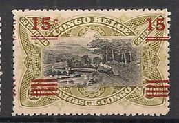 CONGO BELGE 87 T14.50 MNH NSCH ** // T Zeldzaam Rare - 1894-1923 Mols: Mint/hinged