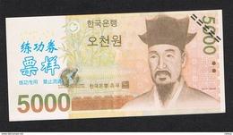 ) ZUID KOREA  5000 WONG ( KOPY ) - Corée Du Sud