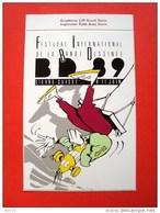 Festival International De La Bande Dessinée Sierre, Valais, Suisse, BD 89, 8-11 Juin 1989 - Autocollants
