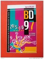 Festival International De La Bande Dessinée Sierre, Valais, Suisse, BD 97, 29 Mai- 1juin  1997 - Autocollants