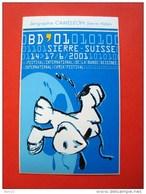 Festival International De La Bande Dessinée, International Comix-Festival,  Sierre, Valais, Suisse, BD 01 - Autocollants