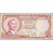 TWN - JORDAN 19d - 5 Dinars 1975-1992 UNC - Giordania