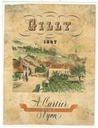 Rare // Gilly 1947, A. Cartier Nyon, Vaud  // Suisse - Etiquettes