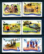 New Zealand 2005 Anniversaries Of Organisations Set Used (SG 2764-69) - Nuova Zelanda