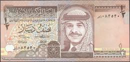 TWN - JORDAN 23a - ½ Dinar 1992 UNC - Giordania