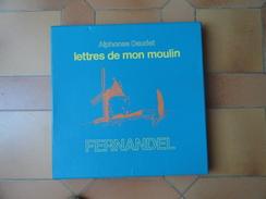 """Coffret 6 Disques 33T """"Lettres De Mon Moulin"""" Alphonse Daudet Par FERNANDEL, Disques Et Coffret Impeccables - Collections Complètes"""