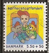 Danemark Denmark 2010 Cancer Obl - Oblitérés