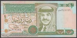 TWN - JORDAN 29c - 1 Dinar 2001 UNC - Giordania