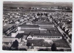 CP.  59 . SAINT-POL-sur-MER . VUE AERIENNE . CITE DES CHEMINOTS ECOLE  VANCAUVENBERGHE - Saint Pol Sur Mer