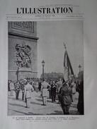 L´illustration N° 4246 19 Juillet 1924 Le Tournoi Olympique; Mahatma Gandhi; Enquête à Biribi; Foch; 14 Juillet à Paris - L'Illustration