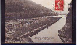 08 . MONTHERME . VALLEE DE LA SEMOY . LE COURS DE LA SEMOY A LA PRISE DU CANAL DE PHADES . - Montherme