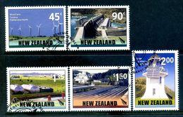 New Zealand 2006 Renewable Energy Set Used (SG 2887-91) - Nuova Zelanda