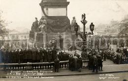 Postcard / ROYALTY / Belgium / Belgique / Roi Albert I / Koning Albert I / Glorification Du Soldat Inconnu / 1922 - Personnages