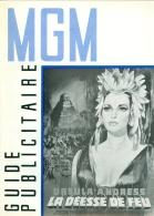 """Guide Publicitaire MGM Cinéma """"La Déesse De Feu"""" Ursula Andress 1965 - Pubblicitari"""