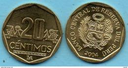 PEROU / PERU  20 Centimos  2004 UNC / NEUVE - Peru