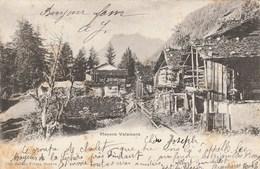 Suiise - Valais - Mayens Valaisans. Jullien Frères N° 3026. Voyagée 1901. - VS Valais