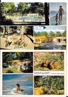 33 - MONTALIVET - C.H.M. CENTRE HELIO MARIN - 2 Cartes Multivues  - NUS  - LE CENTRE NATURISTE   Editions COMBIER - Other Municipalities