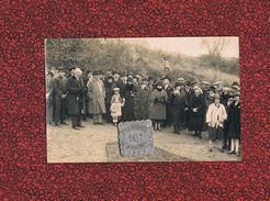 51 PROUILLY CARTE - PHOTO N° 1  COMMEMORATION  INAUGURATION MONUMENT AUX MORTS - Altri Comuni
